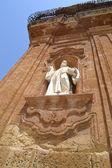 Church statue — Stock Photo