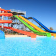Stock Photo: Aquapark.