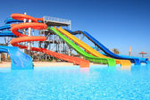 Aquapark. — Stockfoto