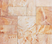 Wall from granite tiles with natural pattern. Granite with natur — Stock Photo