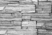 Decorative brick wall (monochrome photo).Brick wall as backgroun — Stock Photo