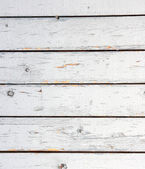 Old white painted wooden lining boards wall.White background of — Stock Photo