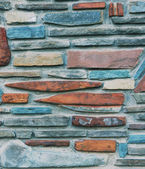 Stone background.Different stones, small and big. — Stock Photo