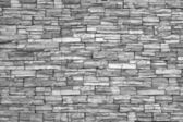 Modern brick wall (monochrome photo).Brick wall as background. — Stock Photo
