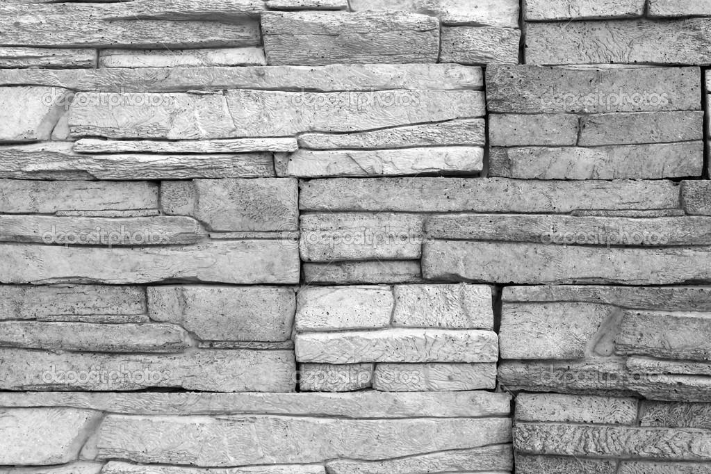 Decoratieve bakstenen muur zwart wit foto bakstenen - Ladrillos decorativos para pared ...