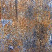Old rusty black metallic background. — Foto Stock