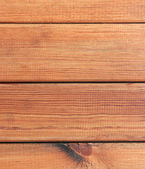Rustic fence from wooden planks. — Stock Photo