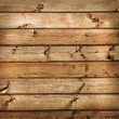Wooden plank background. Simple wooden planks with a branches. — Stock Photo