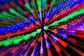 Colorful rays of light. — Stock Photo