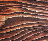 Brown wooden board close-up. — Stock Photo