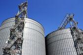 Grain storage place — Stock Photo
