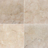 Four different texture of a light and dark marble. (high.res.) — Stock Photo