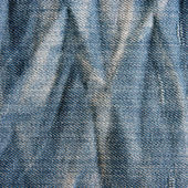 Vintage jeans texture with scuffed. — Stock Photo
