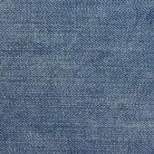 Blue denim jeans texture. — Stock Photo
