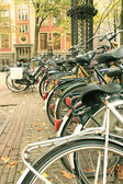 Bicycles, Amsterdam. — Stockfoto