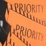 Label priority — Stock Photo #48219341