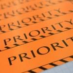 Label priority — Stock Photo #48219351