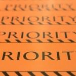 Label priority — Stock Photo #48350753
