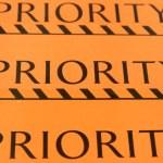 Label priority — Stock Photo #48350755