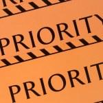 Label priority — Stock Photo #48440821