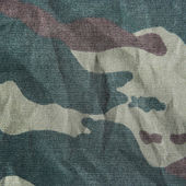 Khaki camouflage texture. — Stock Photo