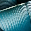 Detail of Custom Car Bench Seat - Stock Photo