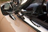 Ventilación ventana detalle de coches de época — Foto de Stock