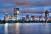 Boston Skyline at Sunset — Stock Photo