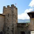 Thun Castle in Trento, Italy — Stock Photo