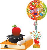 Graduation Celebration — Stock Vector