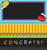 Congrats — Stock Vector