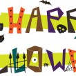 Happy Halloween — Stock Vector