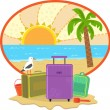 Stock Vector: Vacation Icon