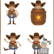 Stock Vector: Sheriff