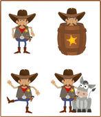 Sheriff — Stock Vector