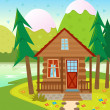 Cabin — Stock Vector #41506813