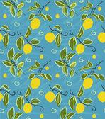 Patrón de limón — Vector de stock