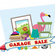 Garage Sale — Stock Vector #46404947