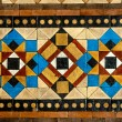 Stock Photo: Large Mosaic Floor Tiles