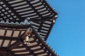 Close-up japonské pagody — Stock fotografie