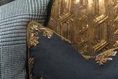 Close Up Luxury Cushions — Stock Photo