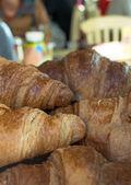 Croissants & café (3) — Fotografia Stock