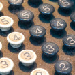 Old Numeric Keypad (1) — Stock Photo