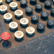 Old Numeric Keypad (3)) — Stock Photo