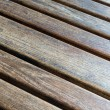 Stock Photo: Diagonal Wooden Table (1)