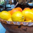 Foto Stock: Lemons & Oranges in Bowl (1)