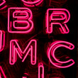 Pink Neon Letters (3) — Stock Photo