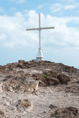 Christian Cross on Hill (3) — Stock Photo