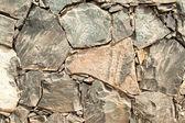Cracked Slate Wall — Stock Photo