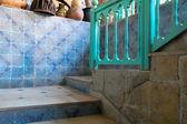 деревенском лестницы — Стоковое фото